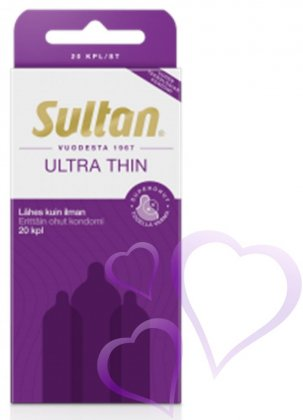 Sultan - Ultra Thin Kondomi